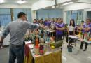 ฝึกอบรมทักษะการบริการอาหารและเครื่องดื่ม การบริการนักท่องเที่ยว ผู้ประกอบอาหารไทย และภาษาอังกฤษสำหรับงานบริการ